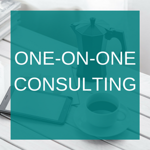 One on one consulting for small business - marketing, copywriting, growth