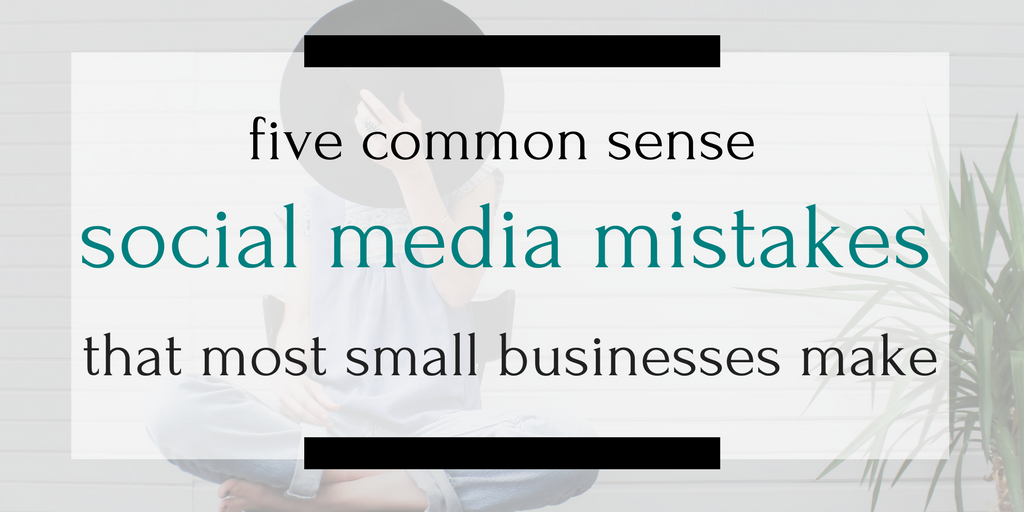 Seven out of ten small businesses that I've worked with make one of these mistakes. Are you one of the seven? Click through to find out...