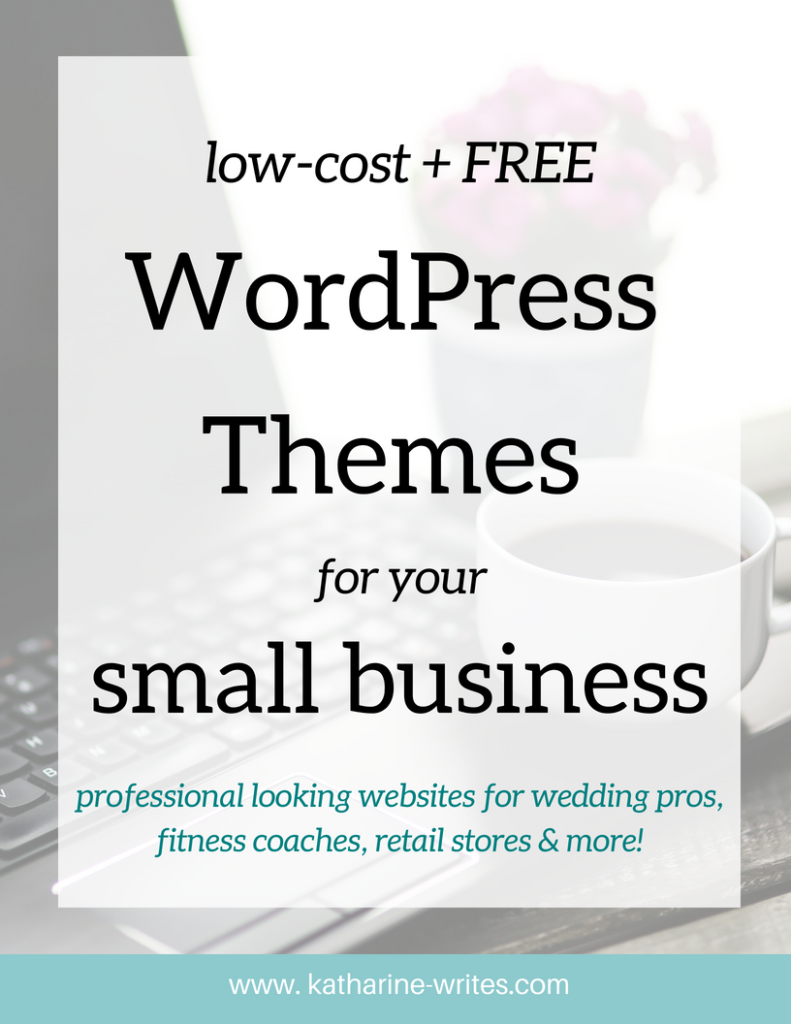 Your First Year Online: WordPress Themes for Small Businesses ...