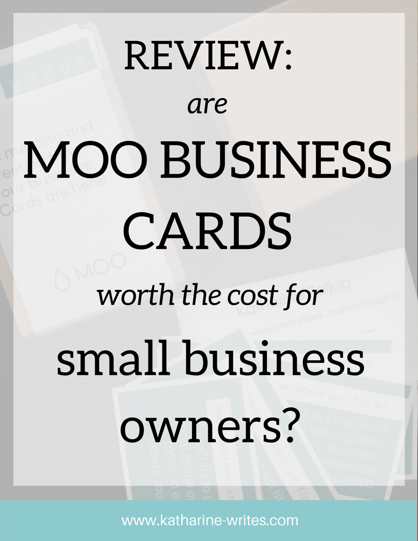 Honest review business cards from moo katharine writes resource reviews why moo business cards colourmoves