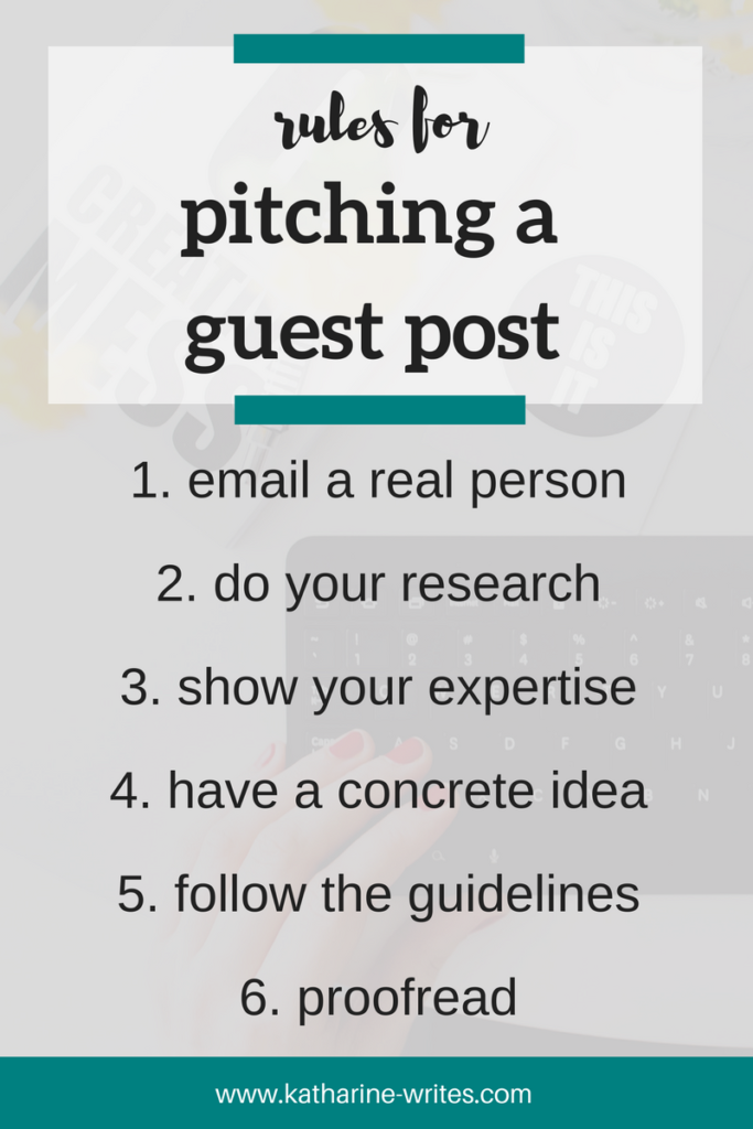 How small business owners can pitch a guest post, including how to structure your email, who to send it to, and how to show your expertise when you're not a professional writer. Click through to read or pin now to save for later!