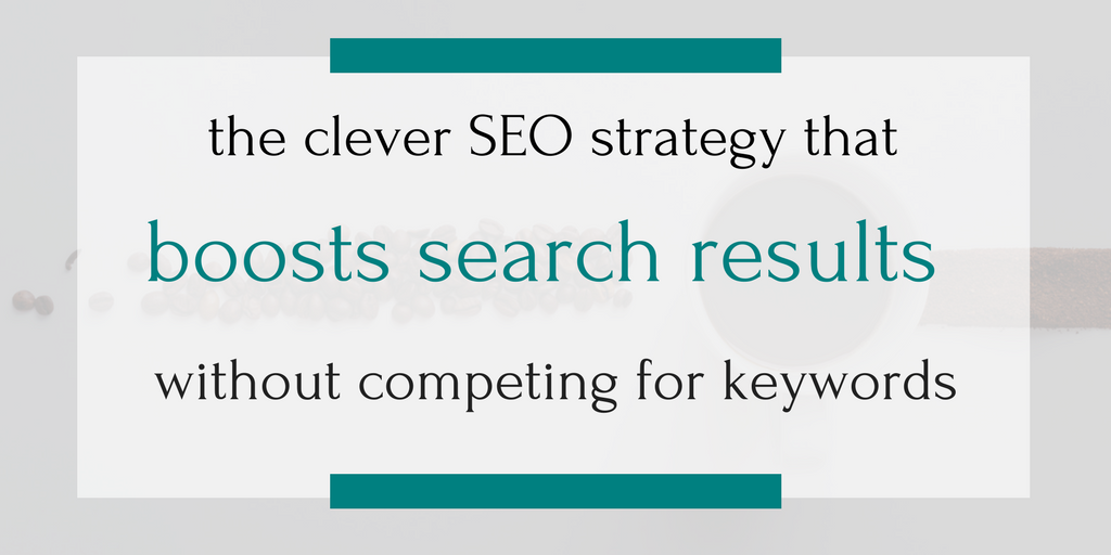 One clever small business stopped competing for search terms and used this strategy to boost their search results instead. Click through to find out how to market your small business by writing about someone else entirely!