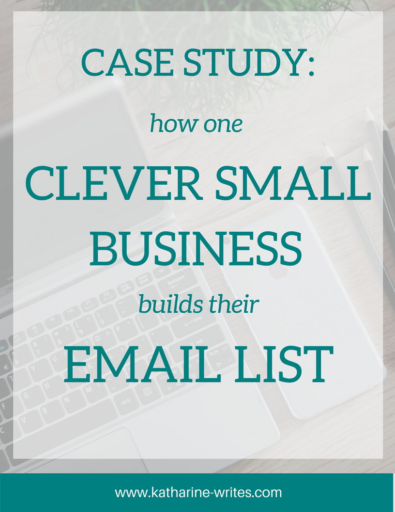 This smart small business took six important steps to build their email list, and it worked. Read on to find out what they are!